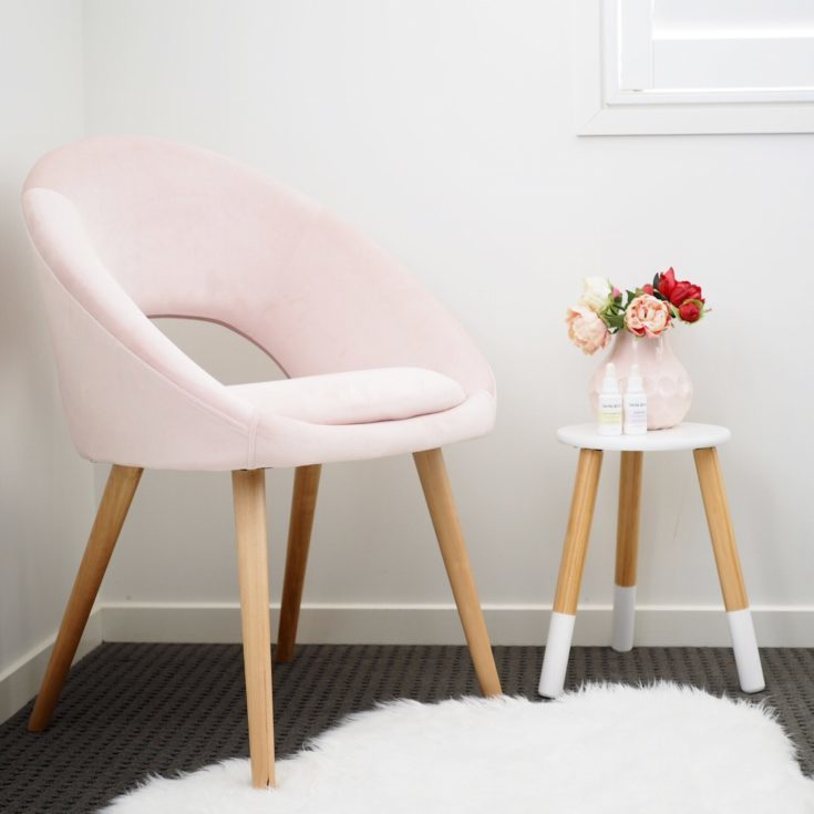 Pink Armchair Kmart Chair Design Ideas